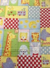 100 Cotton Quilting Craft Fabric Fabri-Quilt Baby Moon 100-186 Animals