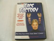 Abacus Face Factory - PC CD Rom - Add-On for use with Sims Game - Windows 9X,ME,