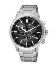 CITIZEN AT2340-81E Eco-Drive Titanium Solar Mens Watch WR100m NEW RRP $799.00
