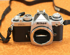 NIKON FM3A silver Body 35mm Manual Camera VERY NICE !! works perfectly
