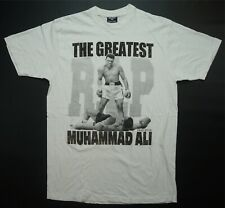 Rare VTG FLYING HORSE The Greatest Muhammad Ali RIP Memorial T Shirt Boxing XL