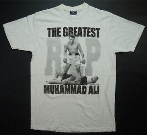 Rare VTG FLYING HORSE The Greatest Muhammad Ali RIP Memorial T Shirt Boxing XL