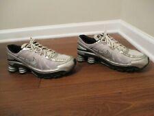 Classic 2008 Used Worn Size 11 Nike Shox Turbo VII Shoes White Black Silver