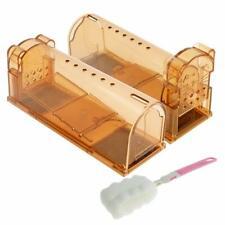 2Pk raded Humane Smart Mouse Trap for Small Rodents Voles Hamsters Moles No Kill