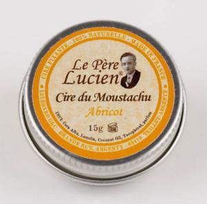 BARTWACHS ABRICOT Le Père Lucien natürlich festigend pflegend Schnurrbartwichce