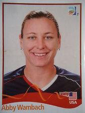 Panini Abby Wambach USA FIFA Frauen WM 2011 Germany