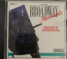 More Broadway Musicals Disc 1 - Rodgers & Hammerstein - CD