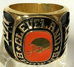 Balfour NFL Cleveland Browns Jumbo Large Display Paperweight Ring