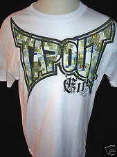 TAPOUT Mens 100% Cotton Short Sleeved White T Shirt Size LARGE NWT