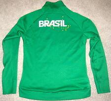 Nike N12 Country Brasil Men's Track Jacket $150 M Md 466404 Brazil Olympics Rio