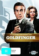 Goldfinger (DVD, 2010, 2-Disc Set) Brand new Sealed Sean Connery