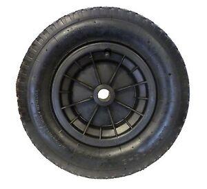 """BLACK 4.80 / 4.00 - 8  ( 16"""" )  WHEELBARROW WHEEL TYRE INNER TUBE, INNERTUBE"""