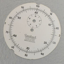 New Old Stock Hanhart Anker 11 Steine 1/100 1/5 Radio Bookshop Stopwatch Dial