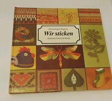 Wir sticken Handarbeitsbuch für Kinder