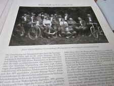 Salzburg Edition 4 4048 erster Arbeiter Radfahrerverein Salzburg 1905 Foto