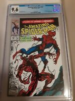 Amazing Spider-Man #361 CGC 9.6 1st Printing 1st Carnage Appearance WP
