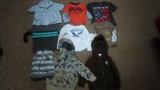 Lot of 9 Toddler Mixed Tops: 18 mo - Hooded Zip, Button, etc - Hilfiger, Hurley