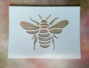 A5 Honey Bee Mylar Stencil - Shabby Chic Rustic Vintage Wall Sign & Furniture