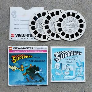 VINTAGE 1976 SUPERMAN VIEW-MASTER B 584 EXCELLENT CONDITION