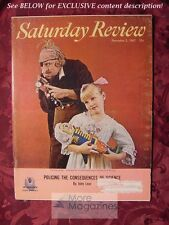 Saturday Review December 2 1967 RICHARD MEANS GERALD JOHNSON RENE J. DUBOS