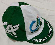 Retro Credit Agricole Pro Cycling Team vintage cotton cap (flat postage rate)