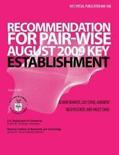Recommendation for Pair-Wise Key Establishment Schemes Using Integer...
