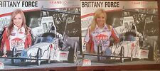2 Autograph 2008 & 2009 Picture NHRA Brittany Force Rookie Year