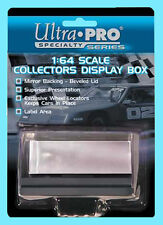 ULTRA PRO 1:64 SCALE DIECAST DISPLAY CASE Mirror Back Beveled Lid Car Holder Box