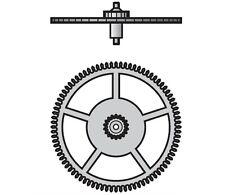 Part 210 Third Wheel ETA Valjoux 7750 7751 7753 7754 7760 7765 Watch Movement