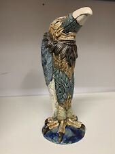 BURSLEM POTTERY STONEWARE GROTESQUE BIRD VINCENT INSPIRED BY MARTIN BROTHERS 1of