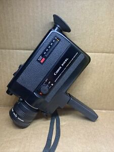 Canon 310xl Super 8 Video Camera-battery tested and working