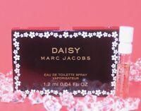MARC JACOBS Women's Daisy Eau De Toilette Sample .04 oz / 1.2 ml Made in France