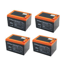 4 x 6DZM12 12V 15AH Battery for Electric/Mobility Scooters E- bikes Mowers 48V