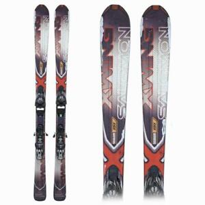 Used Salomon X Wing 6R Ti Skis With Bindings 137cm 144cm 151cm 158cm 165cm