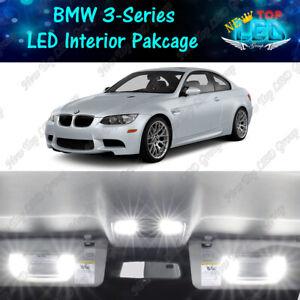 16x White LED Interior Light Package BMW 3 Series E90 E92 328i M3 335i 2006-2012