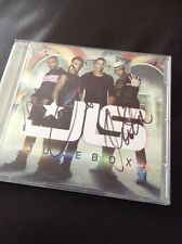 JLS SIGNED CD AUTHENTIC JUKEBOX