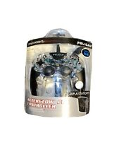 New Pelican Afterglow Pro Controller Playstation 3 Transparent Blue Wired USB