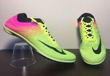 Nike Sz 11.5 Zoom Mamba 3 Olympic Track Spikes Volt Pink Black 882015-999