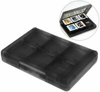28 in 1 Game Case For Nintendo 3DS 3DS XL SD Card  Cartridge Stylus Holder Black