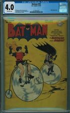 BATMAN #29 CGC 4.0 OFF-WHITE PAGES 1945