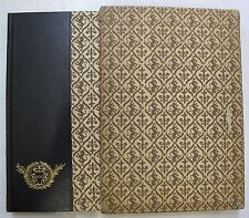 Italian Influence on American Literature Illus. Limited Manuscripts 1/850 1962