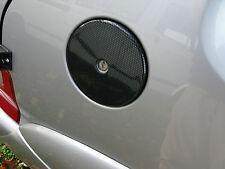 Peugeot 106 Citroen Saxo Vtr Vts Gasolina ABS Efecto Fibra De Carbono Cubierta De Tapa De Combustible