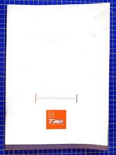 Team Magic G4 Manuale Inglese modellismo
