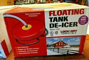 Floating Tank DE-ICER 1500 Watt NEW NIB