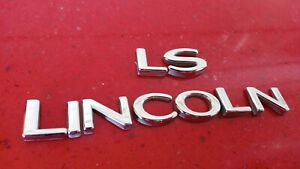 2000-2001-2002-2003-2004-2005-2006 Lincoln LS Tail Light Emblem badge Nameplate