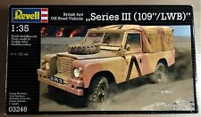 "REVELL 03246 - BRITISH OFF ROAD 4x4 SERIES III (109""/LWB) 1/35 PLASTIC KIT NUOVO"
