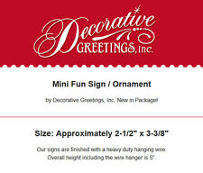 DECO Mini Sign WONDERFUL NURSE HOSPITAL Home care Lvn RN nursing Wood Ornament