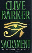 Sacrament by Barker Clive - Book - Paperback - Fiction - Horror
