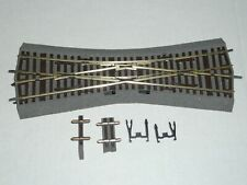 Roco Line HO m. Bettung Einfachkreuzungs Weiche 42546 EKW15