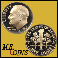 1984-S PROOF Roosevelt Dime , Clad , Gem Cameo , FREE SHIPPING!